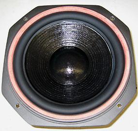 repariertes Lautsprecher-Chassis
