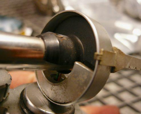 Restauration eines Tonarm 1