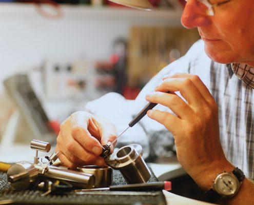 Reparatur eines Tonarms